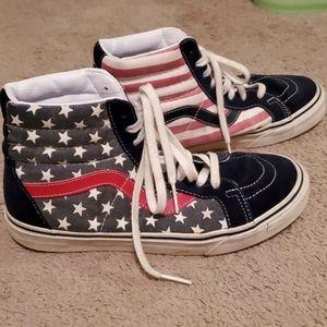 Van Doren American Flag Vans